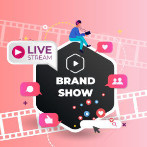 Amazon Live Brand Show Placement Service by Top Rated Studio