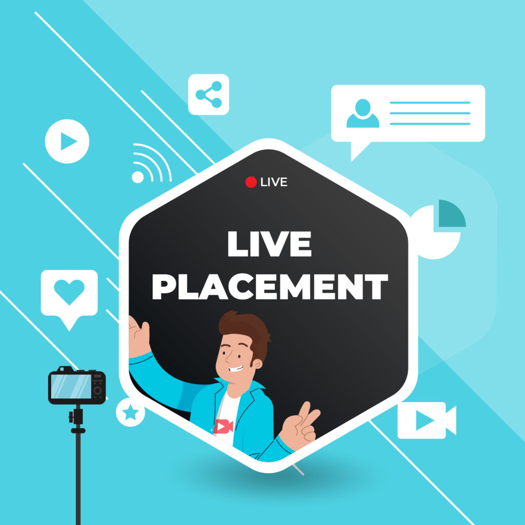 Amazon Live Placement Service by Top Rated Studio