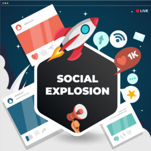 Social Explosion Service by Top Rated Studio